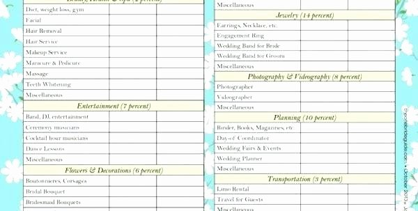 Wedding Planning Template Free Lovely Beautiful Excel Templates Awesome Free Wedding Guest List
