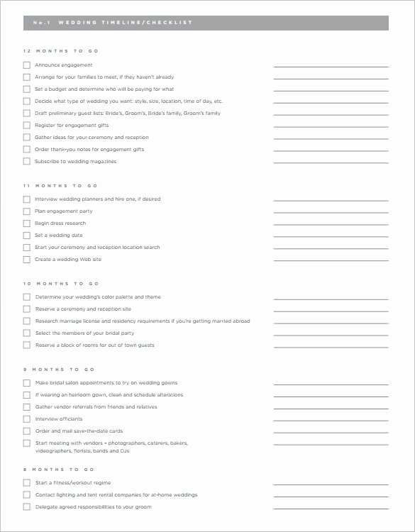 Wedding Planning Template Free Luxury Sle Wedding Planning Checklist Template Teacheng