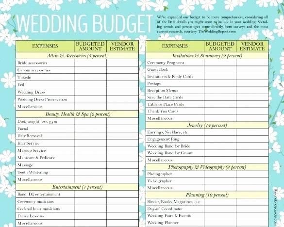 Wedding Planning Template Free Luxury Sponsored Ads Wedding Planning Bud Template Excel