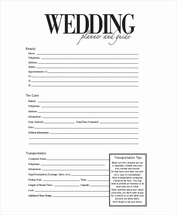Wedding Planning Template Free New Image Result for Wedding Planner Contract form