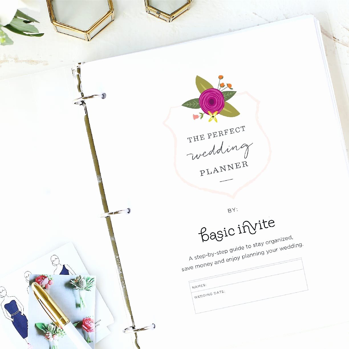 Wedding Planning Template Free New Wedding Planner Printable by Basic Invite