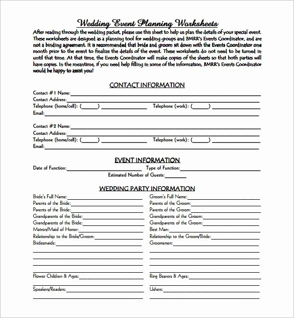 Wedding Planning Template Free Unique event Decorating Business Plan Pdf