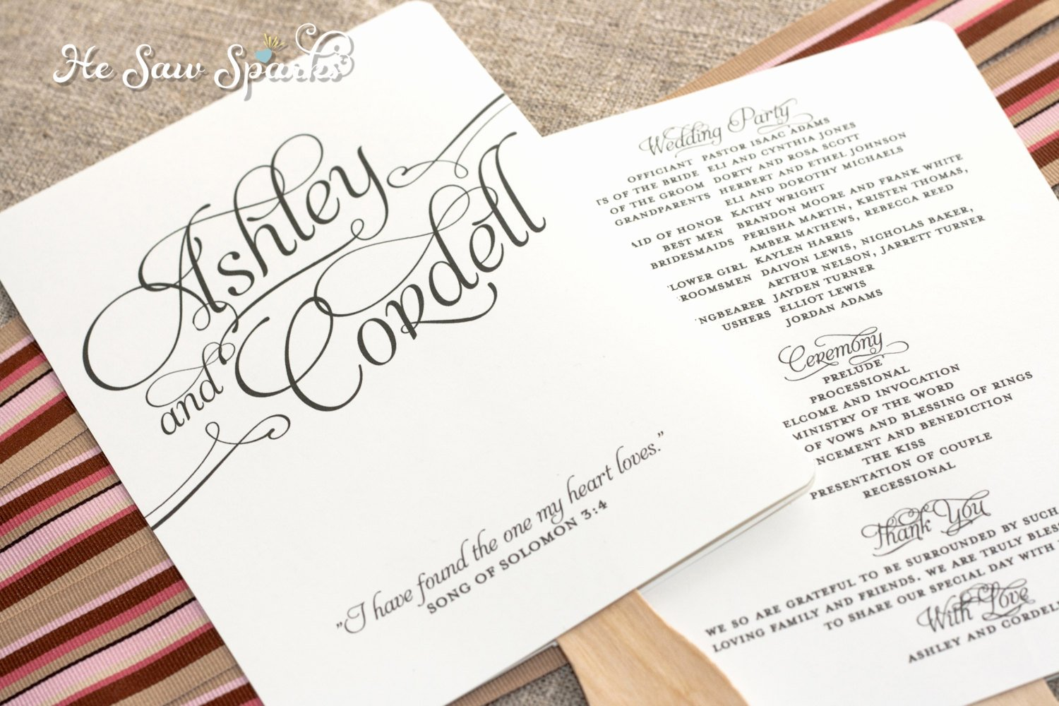 Wedding Program Template Free Printable Best Of 25 Of Wedding Fan Template Wording