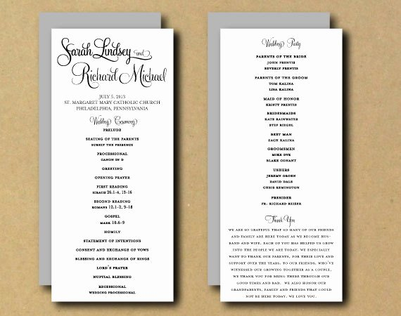 Wedding Program Template Free Printable New Sale Printable Wedding Program Template Whimsical