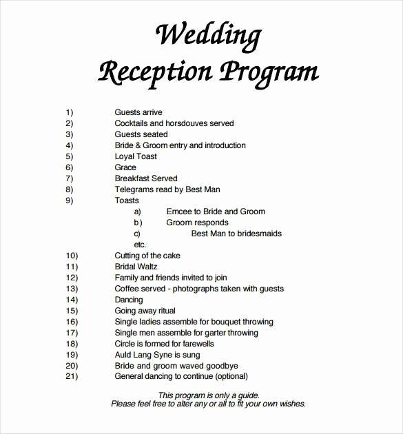 Wedding Program Template Free Word Unique 67 Wedding Program Template Free Word Pdf Psd