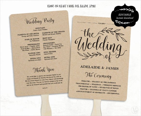 Wedding Program Template Free Word Unique Wedding Program Template 41 Free Word Pdf Psd