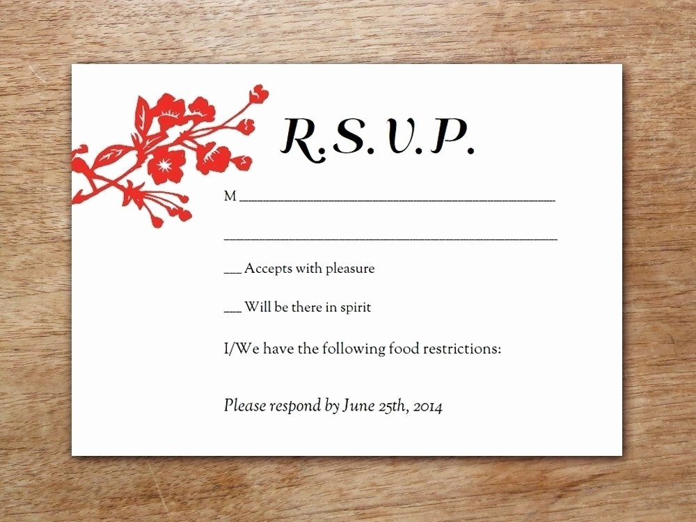 Wedding Rsvp Cards Template Luxury Free Printable Rsvp Cards