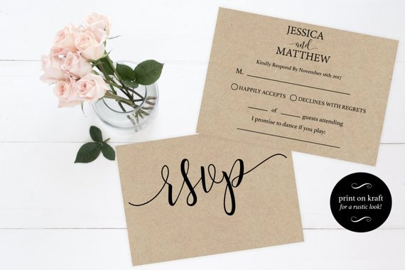 Wedding Rsvp Cards Template New Rsvp Wedding Template Wedding Rsvp Cards Rsvp Online