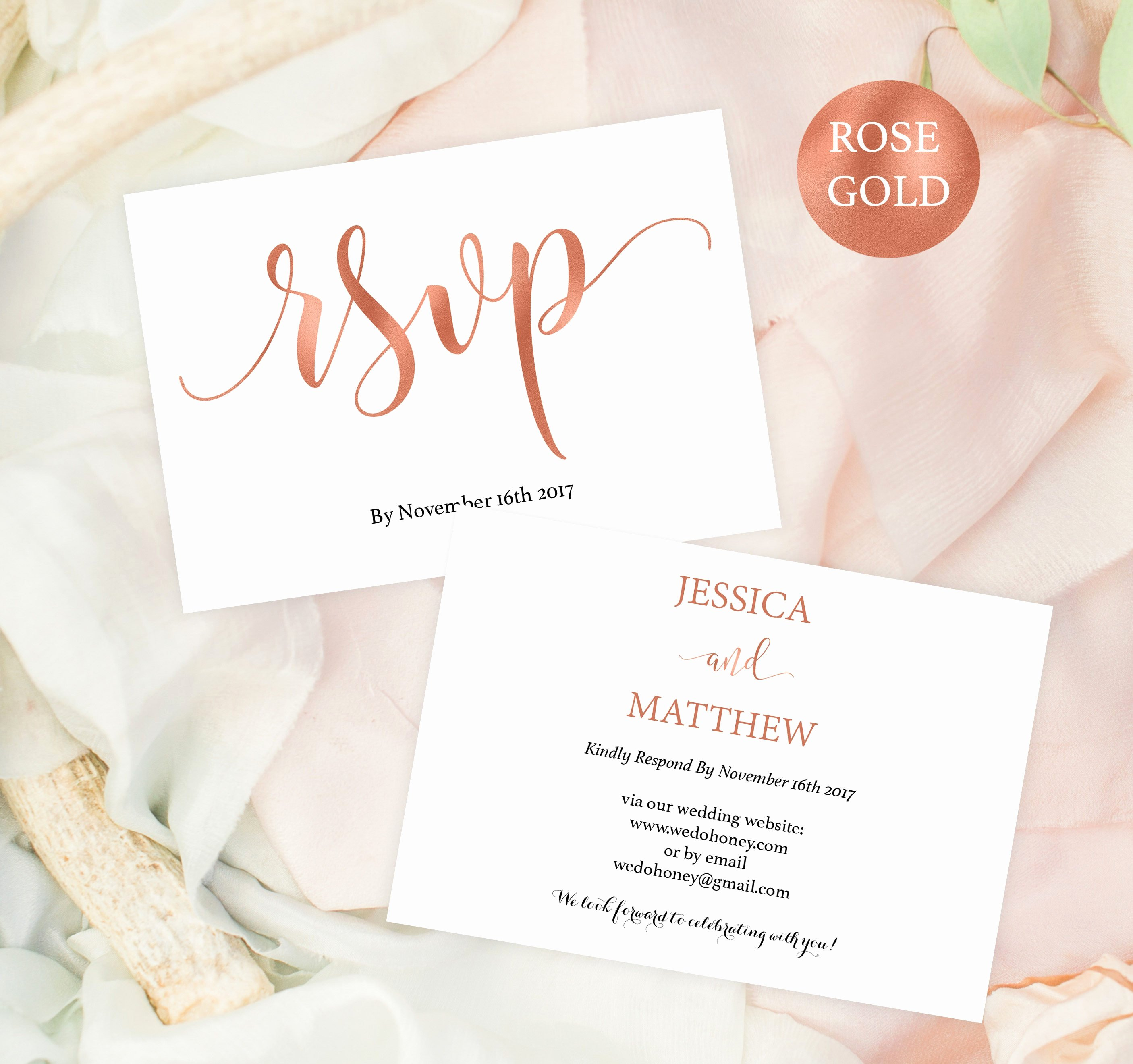 Wedding Rsvp Postcard Template Lovely Wedding Rsvp Postcard Rsvp Template Rsvp Online Rose