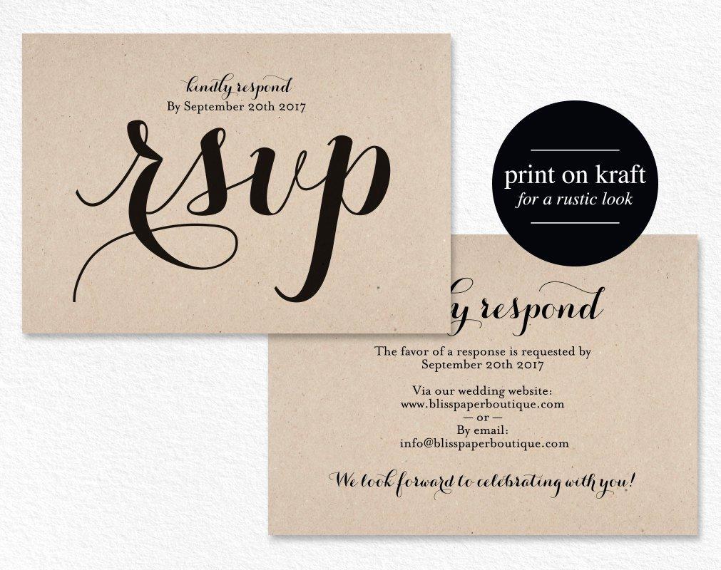 Wedding Rsvp Postcards Template Beautiful Rsvp Postcard Rsvp Template Wedding Rsvp Cards Wedding Rsvp