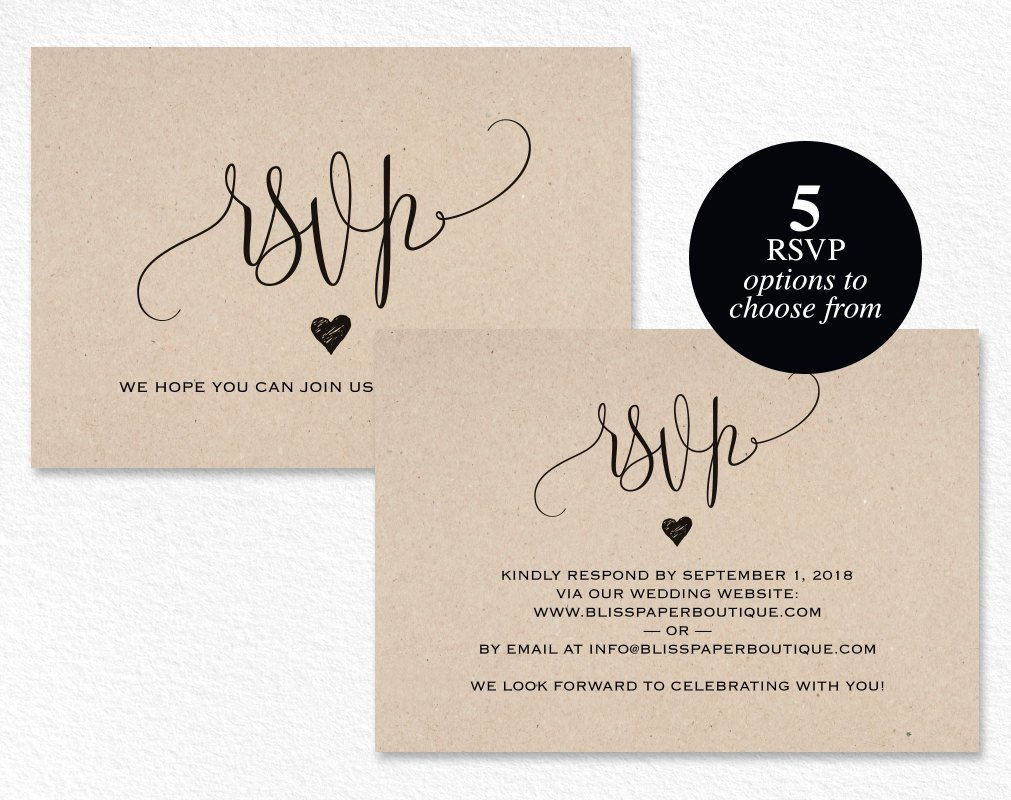 Wedding Rsvp Postcards Template Inspirational Rsvp Postcard Rsvp Template Wedding Rsvp Cards Wedding Rsvp