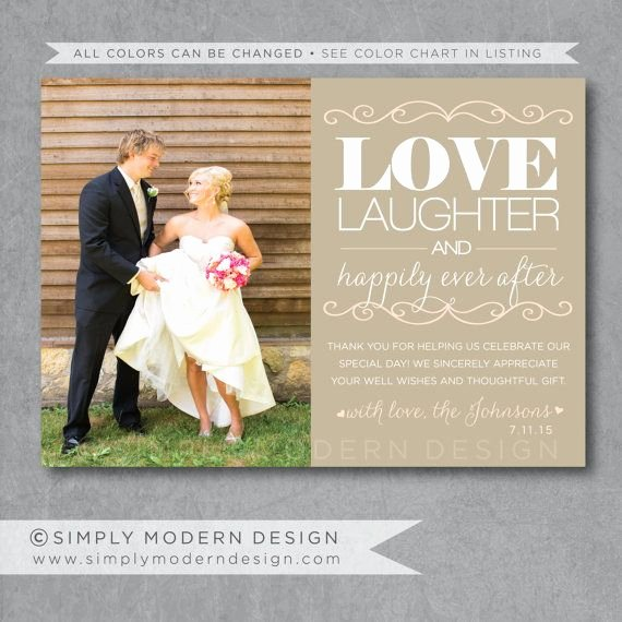 Wedding Thank You Card Template Best Of Free Ideas Thank You Card with Photo From Australia