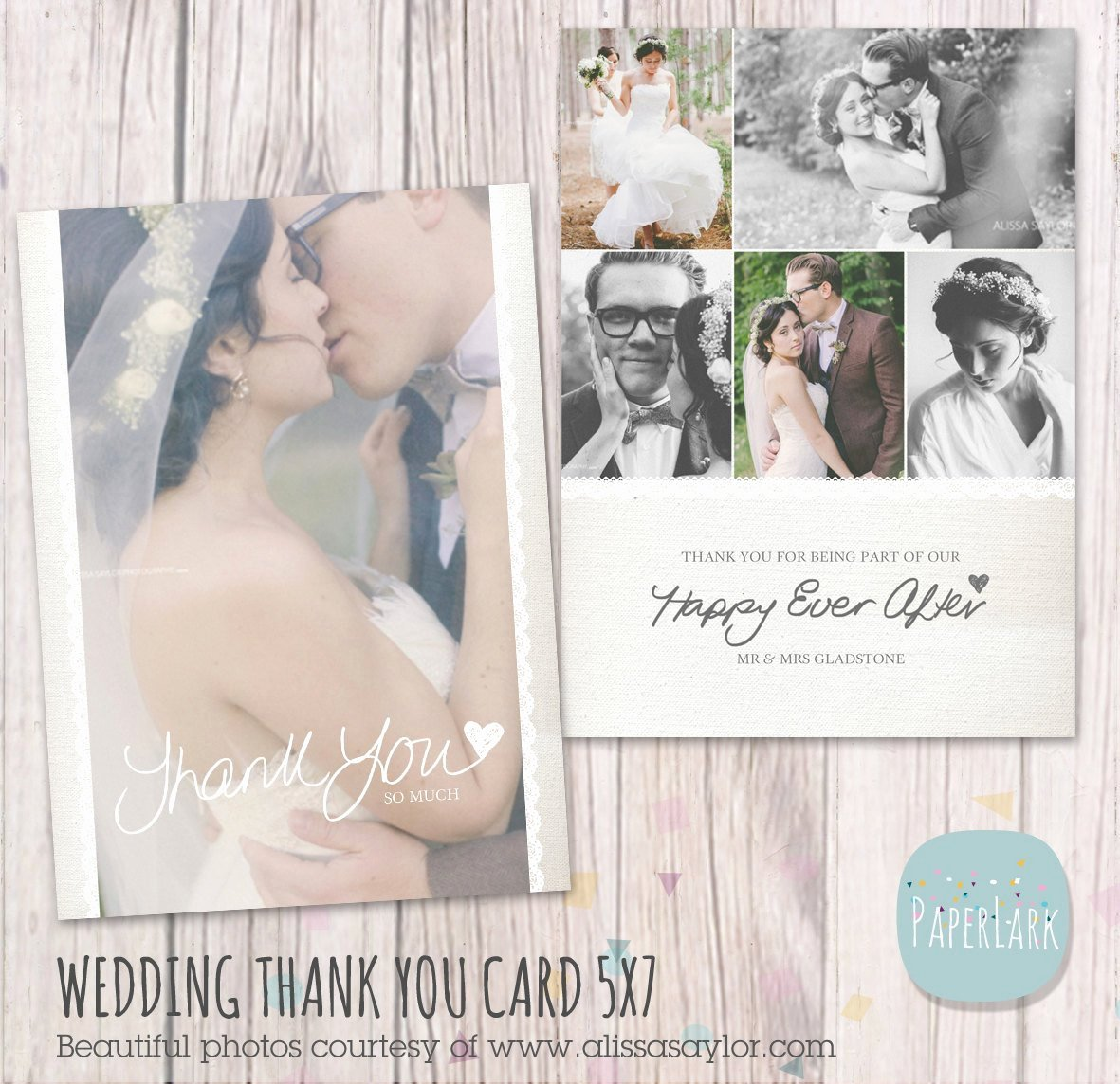 Wedding Thank You Card Template Best Of Wedding Thank You Card Shop Template Aw016 Instant