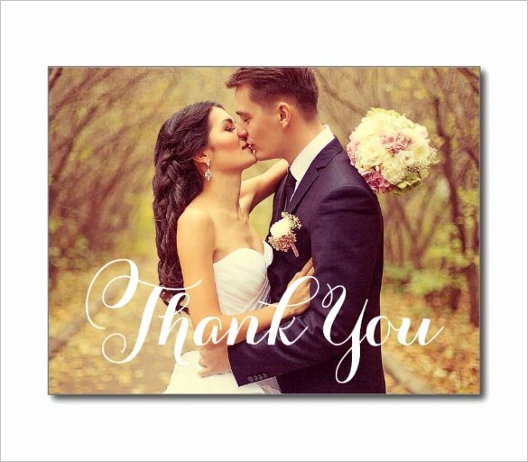 Wedding Thank You Card Template Fresh 24 Thank You Card Designs Psd Ai
