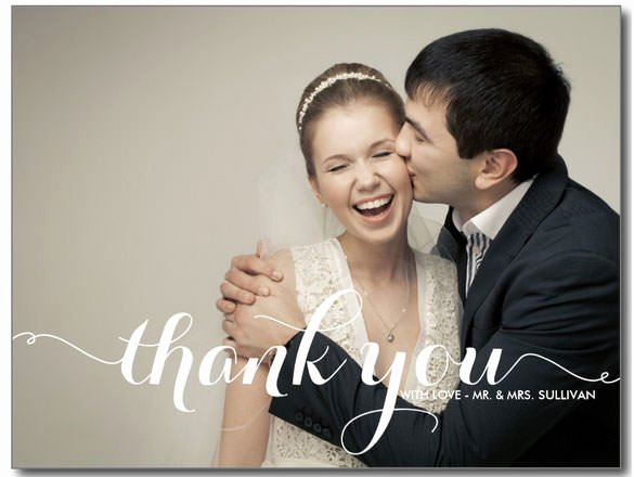 Wedding Thank You Card Template Lovely 21 Wedding Thank You Cards – Free Printable Psd Eps