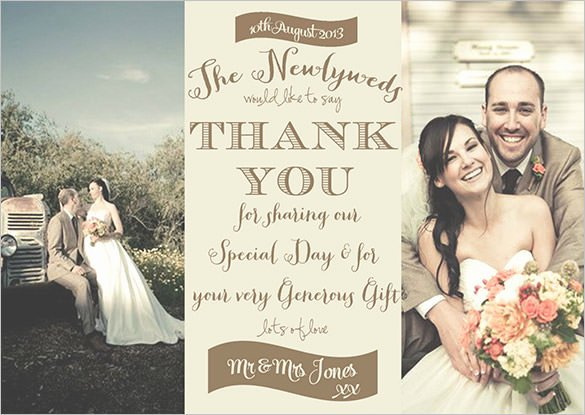Wedding Thank You Card Template Luxury 18 Graphy Thank You Cards Psd Ai