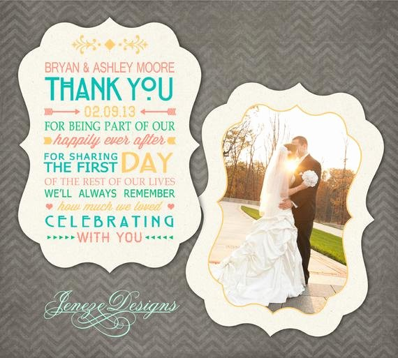 Wedding Thank You Card Template Unique Luxe Wedding Thank You Card Shop Template Item Tc018