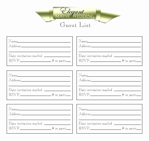 Wedding Vendor Contact List Template Best Of Wedding Contact List Template Contact List Templates