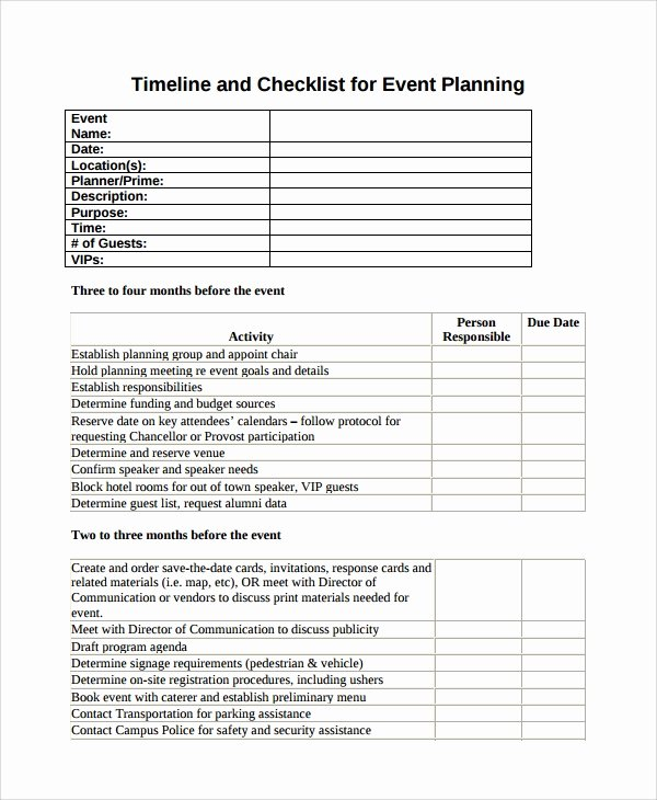 Wedding Vendors List Template Unique Wedding Vendor Checklist Template Pertamini