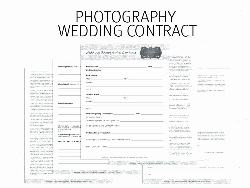 Wedding Videographer Contract Template Beautiful Videographer Contract Template Uk Template A Wedding