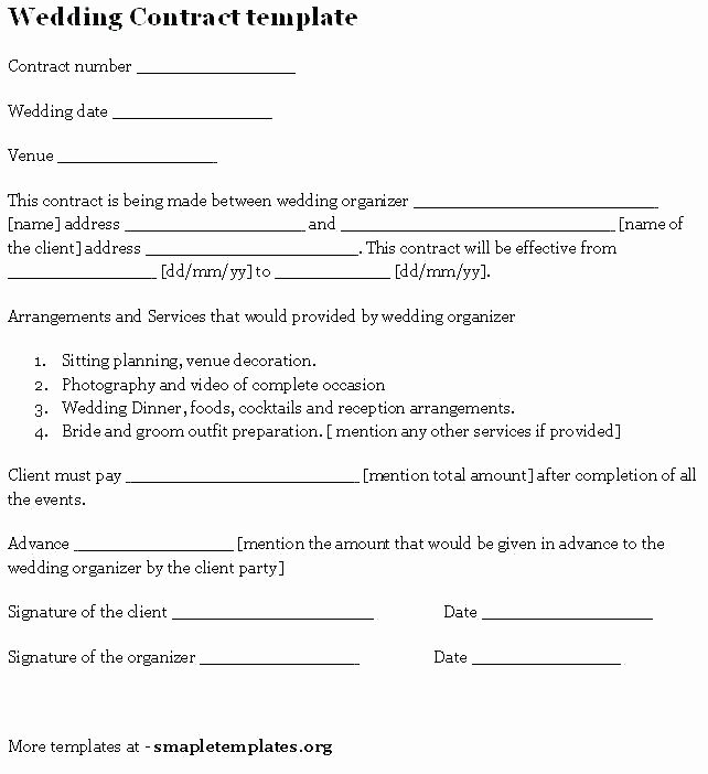 Wedding Videographer Contract Template Best Of 94 Videographer Contract Sample Pleasant Videography