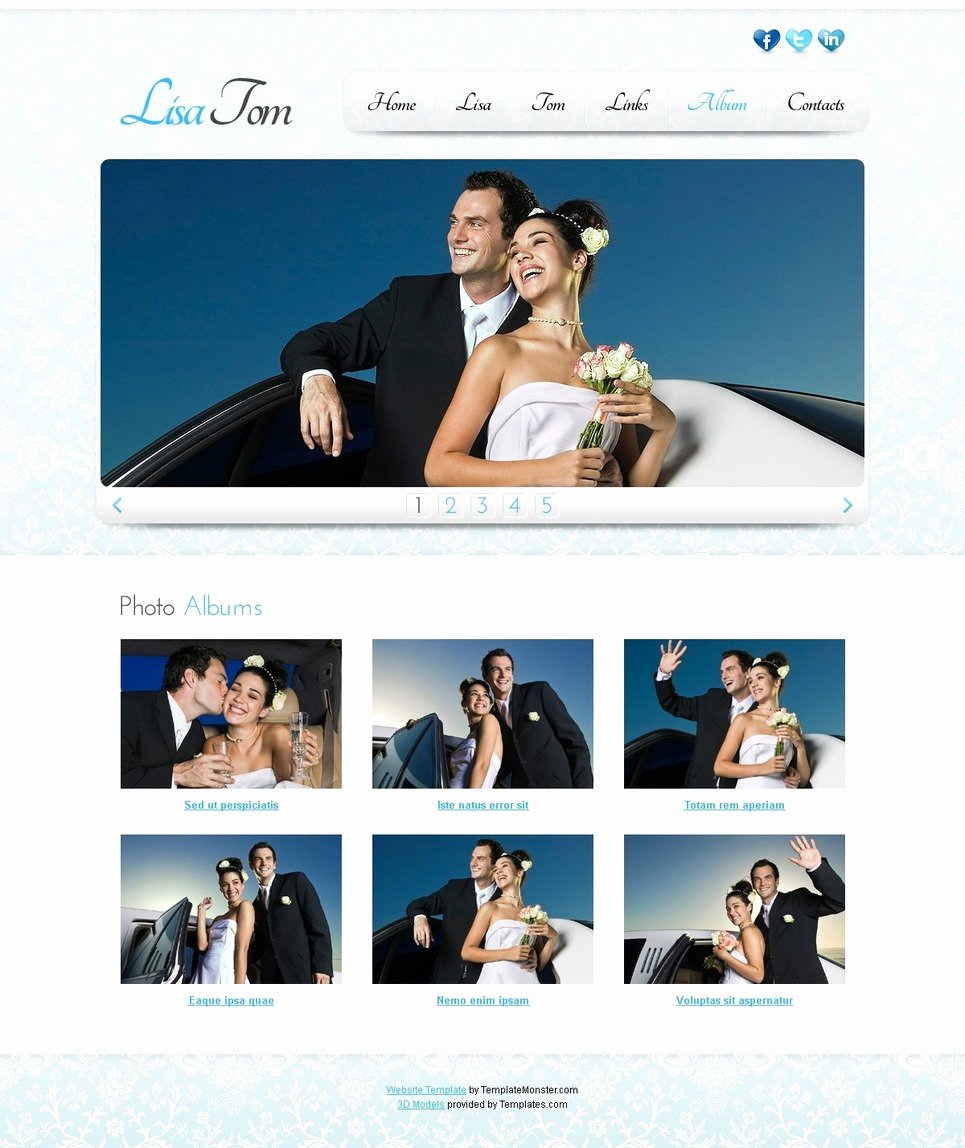 Wedding Web Template Free Beautiful 15 Best Free Wedding Templates