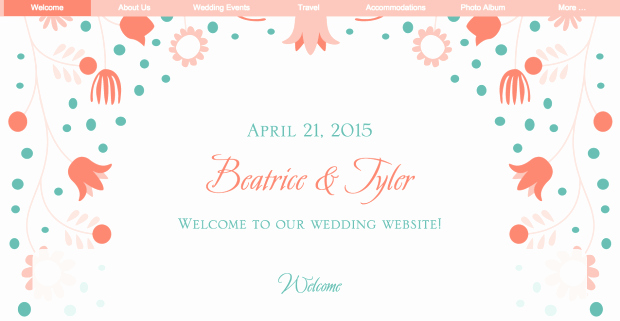 Wedding Web Template Free Inspirational 'free Wedding Website Templates' Articles at the Broke ass