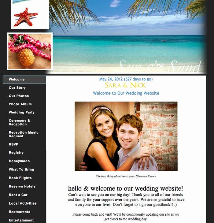 Wedding Web Template Free Inspirational Wedding Planning 101 Build An Awesome Wedding Website