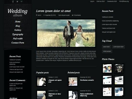 Wedding Web Template Free Lovely Photo Album Template – Usktfo