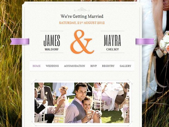 Wedding Website Template Free Awesome 20 Best Wedding Website Templates Css HTML & Wordpress