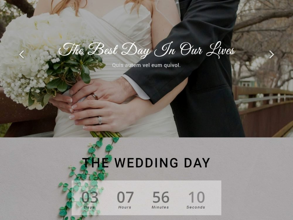Wedding Website Template Free Beautiful 20 Elegant Free HTML Bootstrap Wedding Websites for Your