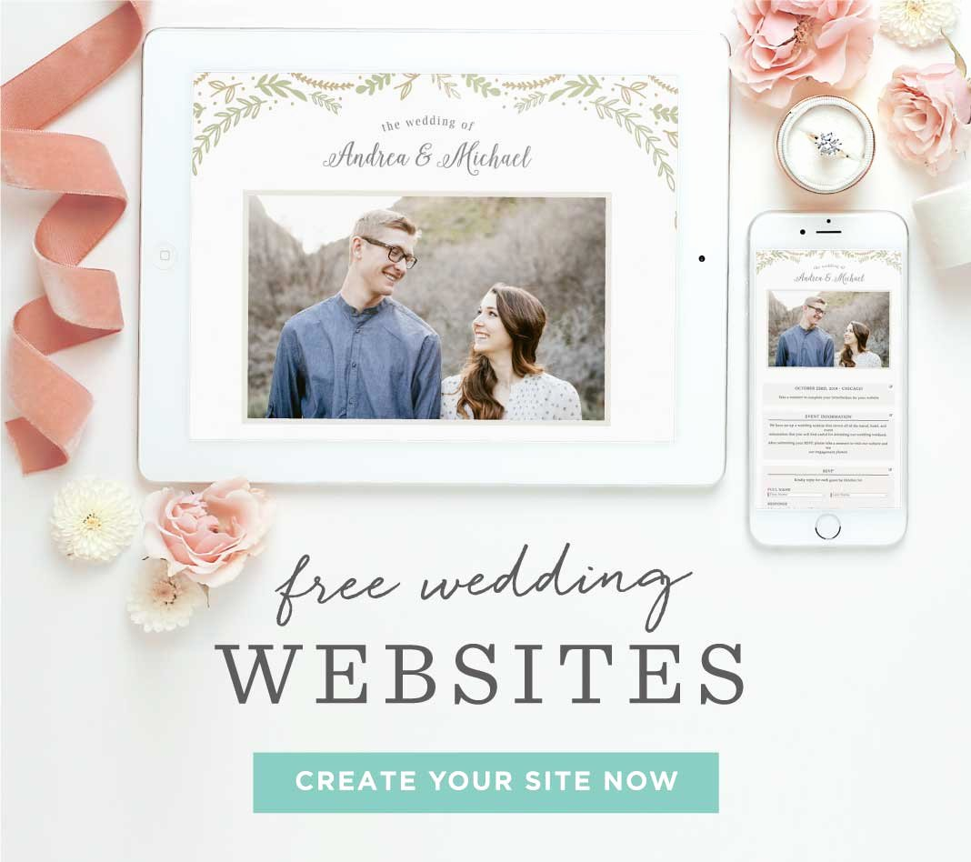 Wedding Website Template Free Beautiful Invitations Announcements and Cards