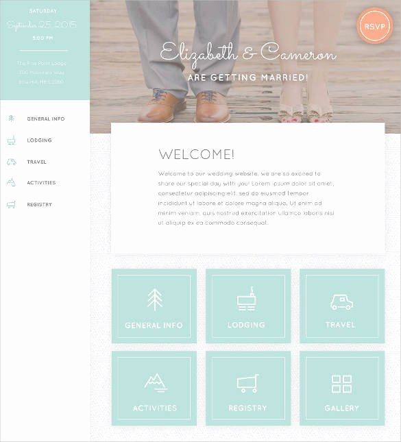 Wedding Website Template Free Best Of 37 Free Wedding Website themes & Templates