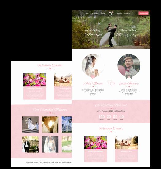 Wedding Website Template Free Fresh Wedding Website Template