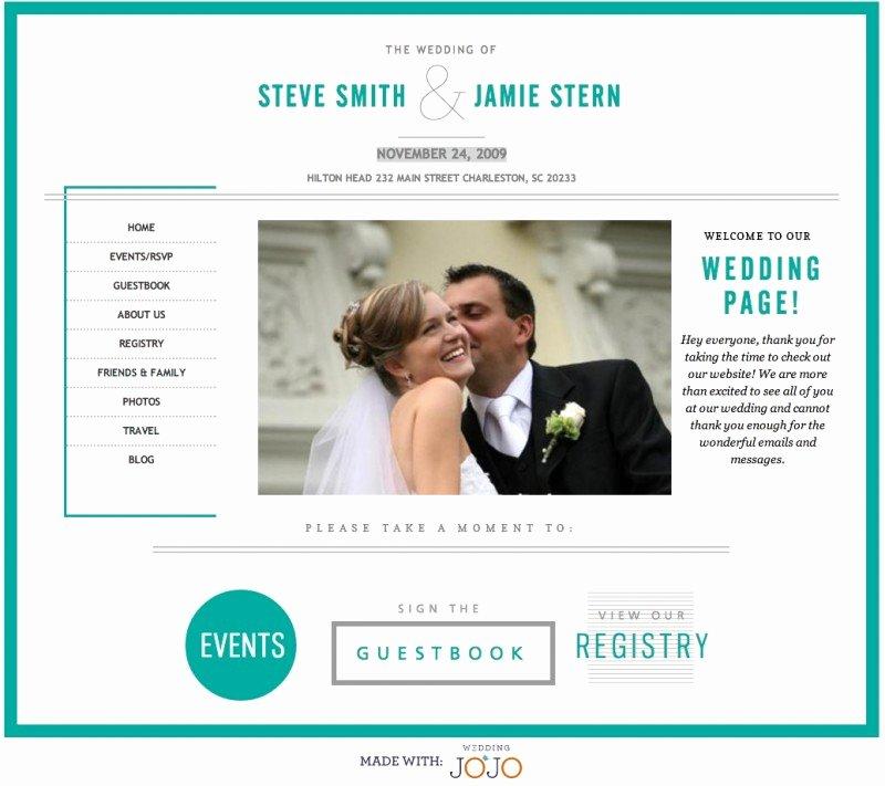Wedding Website Template Free Lovely Best Free & Premium Wedding Website Templates