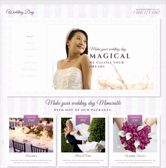 Wedding Website Template Free New 37 Free Wedding Website themes & Templates