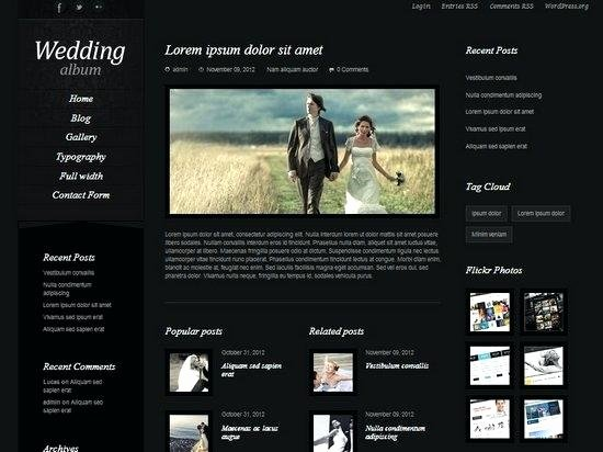 Wedding Website Template Free New Photo Album Template – Usktfo