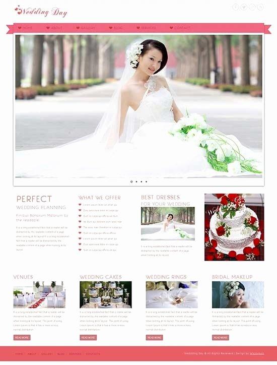 Wedding Website Template Free New Wedding Website Templates Beepmunk