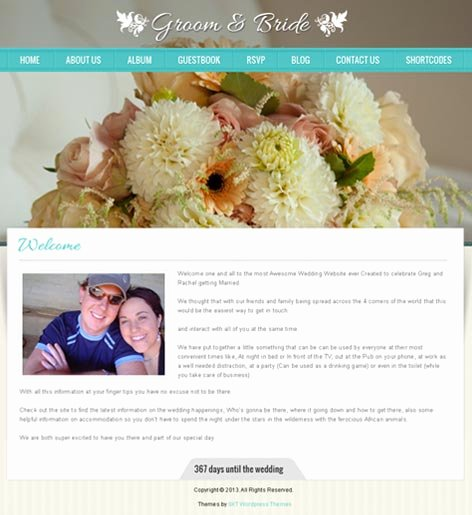 Wedding Website Template Free Unique Free and Paid Wedding Website Reviews Skt themes