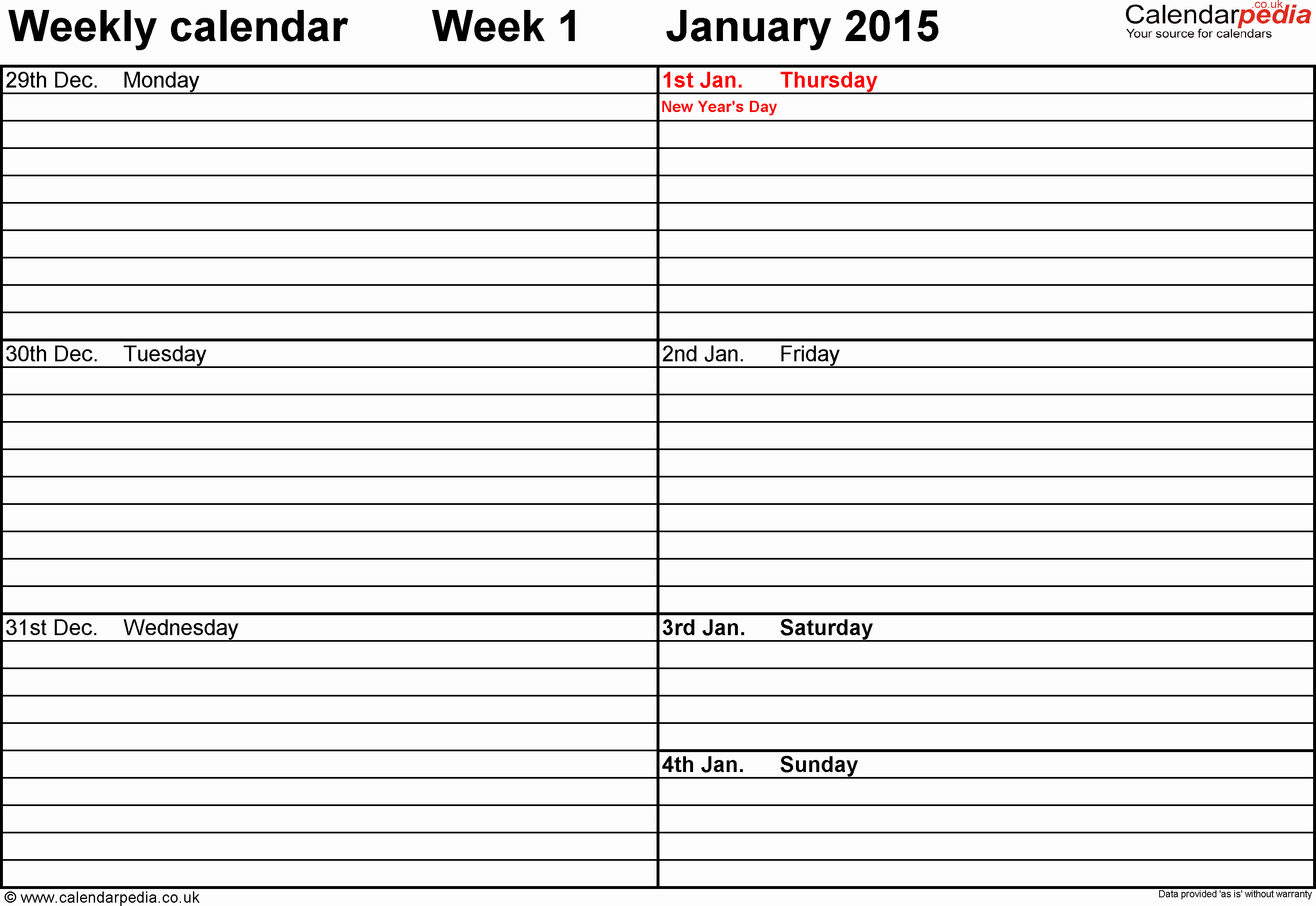 Week Schedule Template Pdf Unique Weekly Calendar Pdf