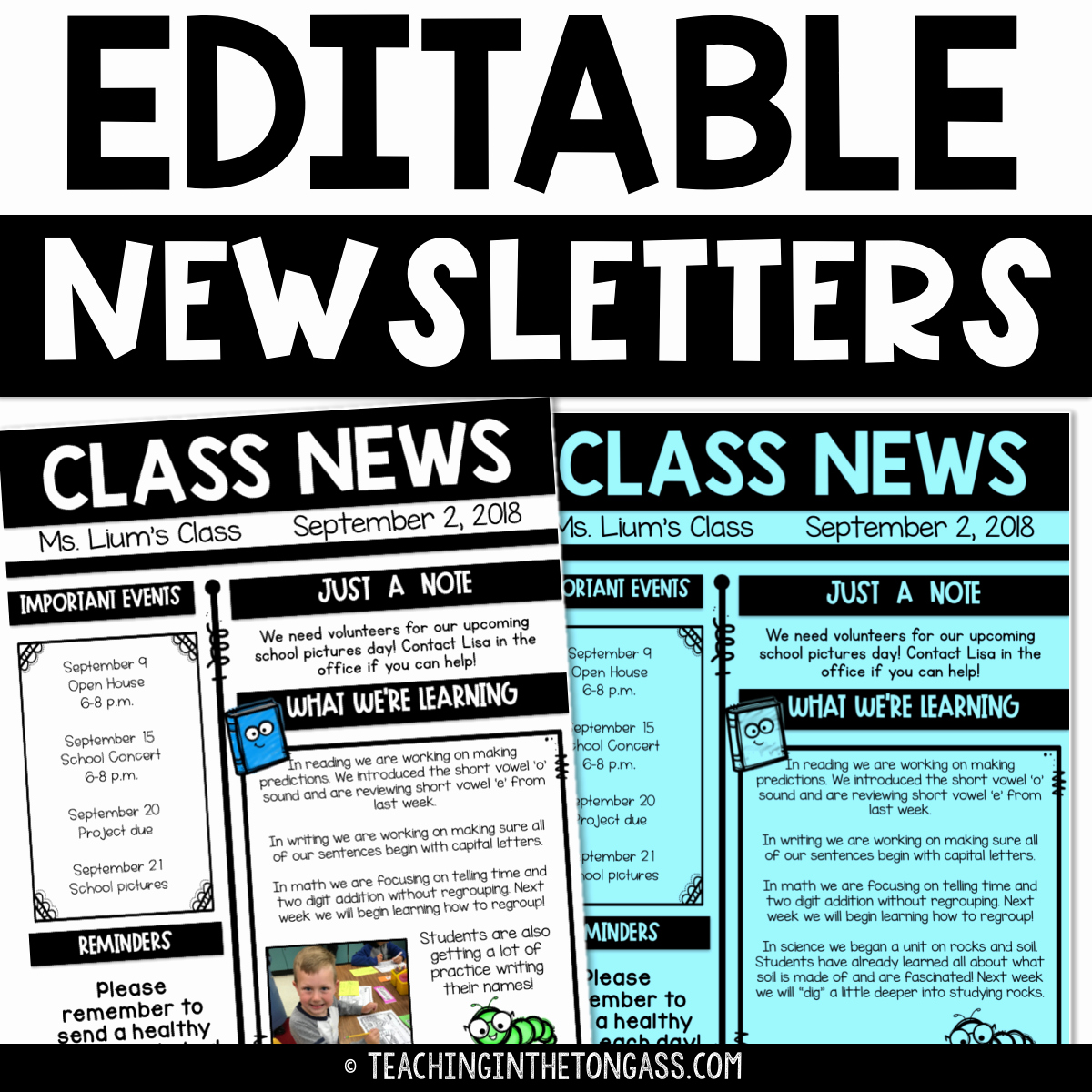 Weekly Classroom Newsletter Template Best Of Weekly Class Newsletter Template Teaching In the tongass