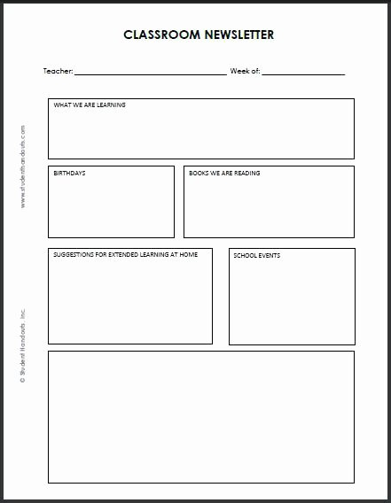 Weekly Classroom Newsletter Template Lovely Related Post Weekly School Newsletter Template Classroom