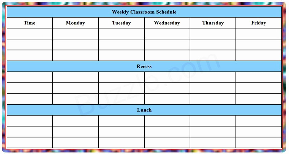 Weekly College Schedule Template Elegant Counselors Corner Advice for Your Juniors—four College