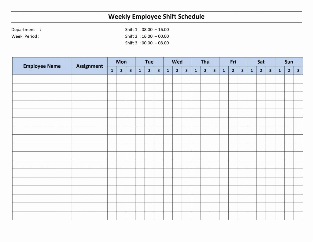 Weekly Employee Schedule Template Best Of Schedule Word Templates Free Word Templates