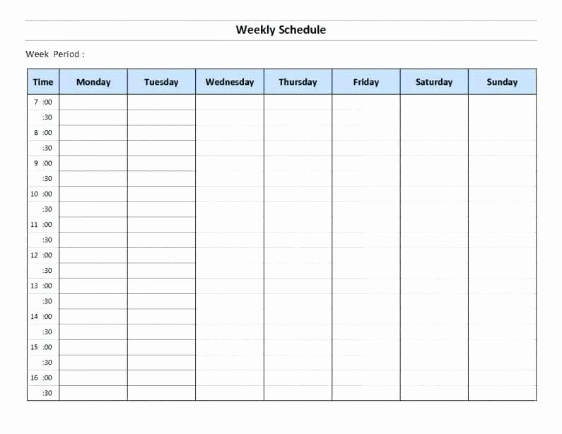 Weekly Employee Schedule Template Excel Luxury Excel Employee Schedule Monthly Staff Template Work