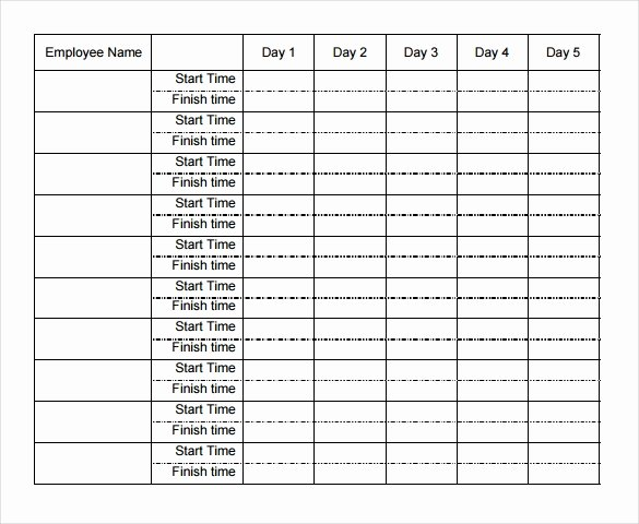 Weekly Employee Timesheet Template Lovely 22 Weekly Timesheet Templates – Free Sample Example