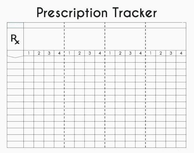 Weekly Medication Schedule Template Lovely top Luscious Free Printable Daily Medication Log