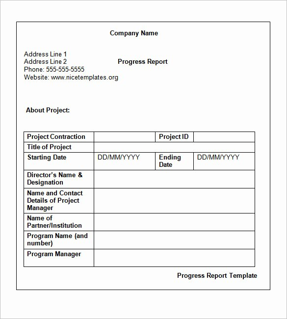 Weekly Project Status Report Template Inspirational Weekly Status Report Templates 27 Free Word Documents