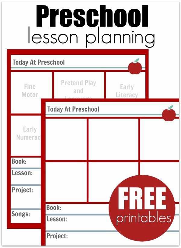 Weekly Sales Plan Template Inspirational 25 Best Ideas About Preschool Lesson Plan Template On