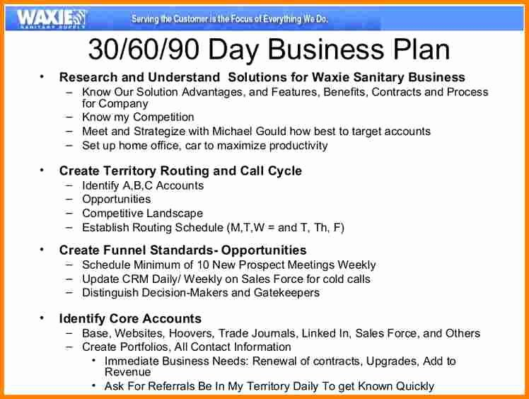 Weekly Sales Plan Template Lovely 13 90 Day Sales Plan Template